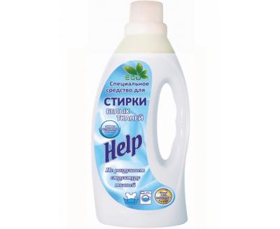 «HELP» для стирки Белых тканей
